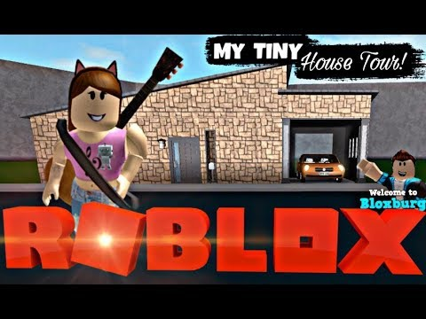 Bloxburg Tiny House Tour Stat House Youtube