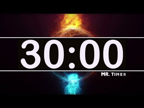 30 Minute Countdown Timer With Epic Music!