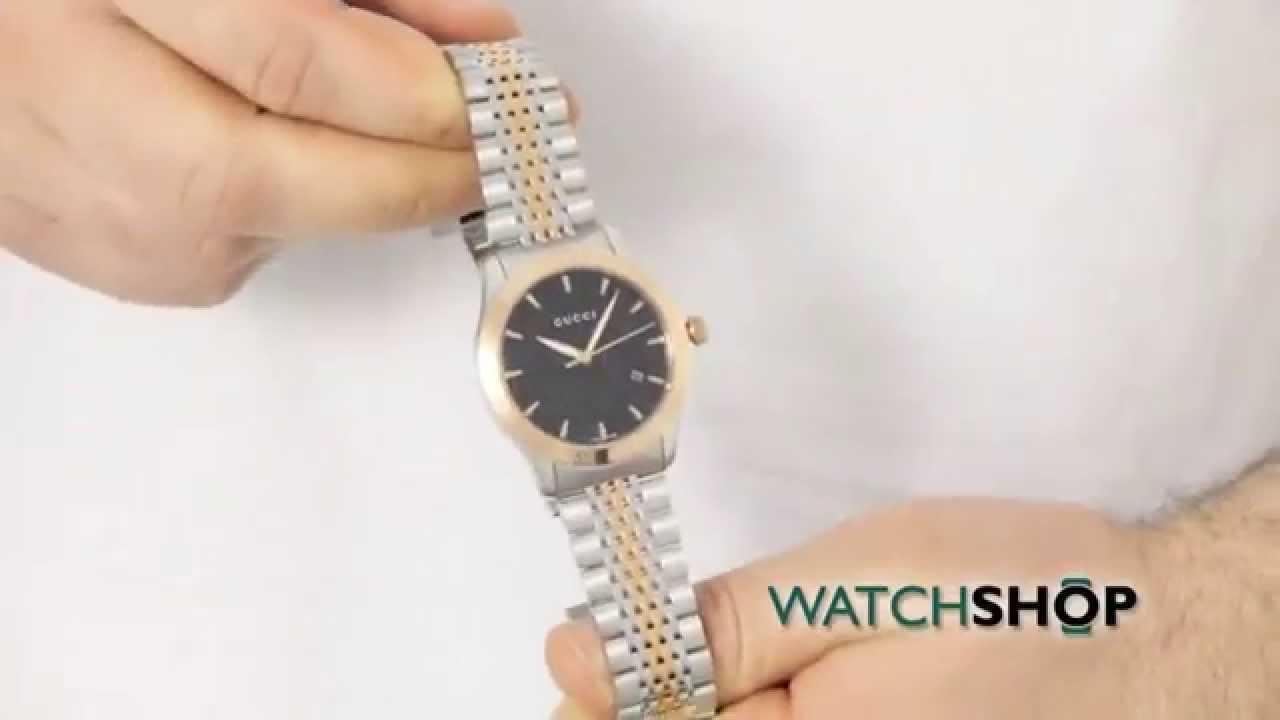 644fd8726f6 Gucci Men s G-Timeless Watch (YA126410) - YouTube
