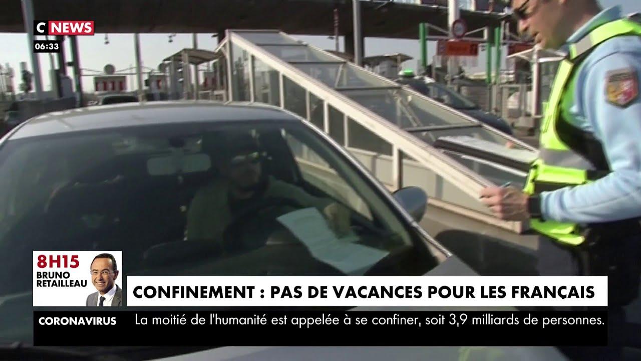 Pour respecter le confinement, pas de vacances pour les Français