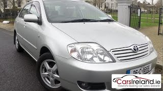 Toyota Corolla 2002 - 2006 review   CarsIreland.ie