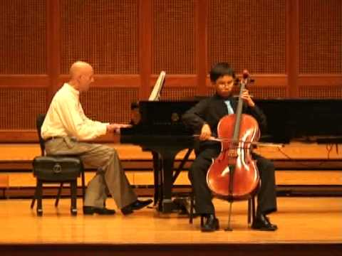 Peter Park solo performance at Blue Mountain Chamber Music Festival 2014