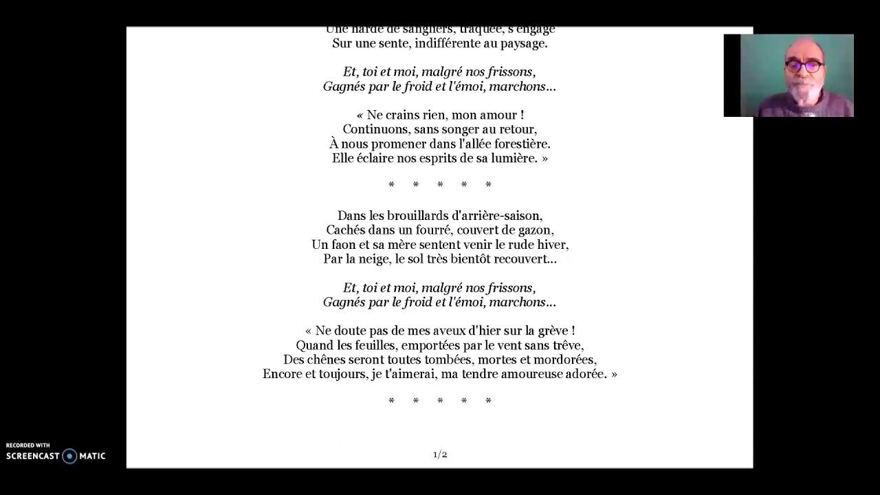 Philippe Parrot Poème Contemporain Lu 366 Trahison De Printemps V1