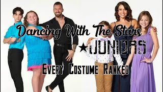 DWTS JRs. All Costumes Ranked (65-1)