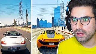 GTA 5 vs REAL LIFE CHALLENGE! #2