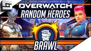 RANDOM HERO BRAWL! - Overwatch Gameplay