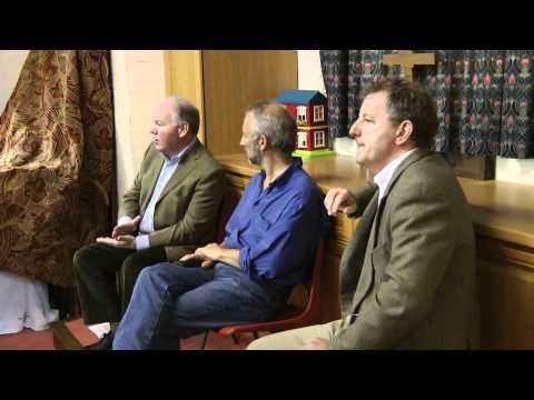 Charles Hendry MP  & Jeremy Leggett debate