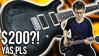 $200 Guitar... and it's Not Total ��|| Harley Benton CST-24T Demo/Review