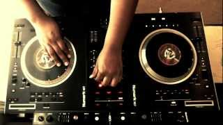 """The Breaks"" Routine + Classic 80s/90s Hip-Hop Set by DJ Nonay (Female DJ)"