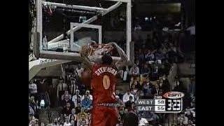 Gambar cover DeShawn Stevenson's Five Increasingly Emphatic Slams at the McDonald's All-American Game (2000)