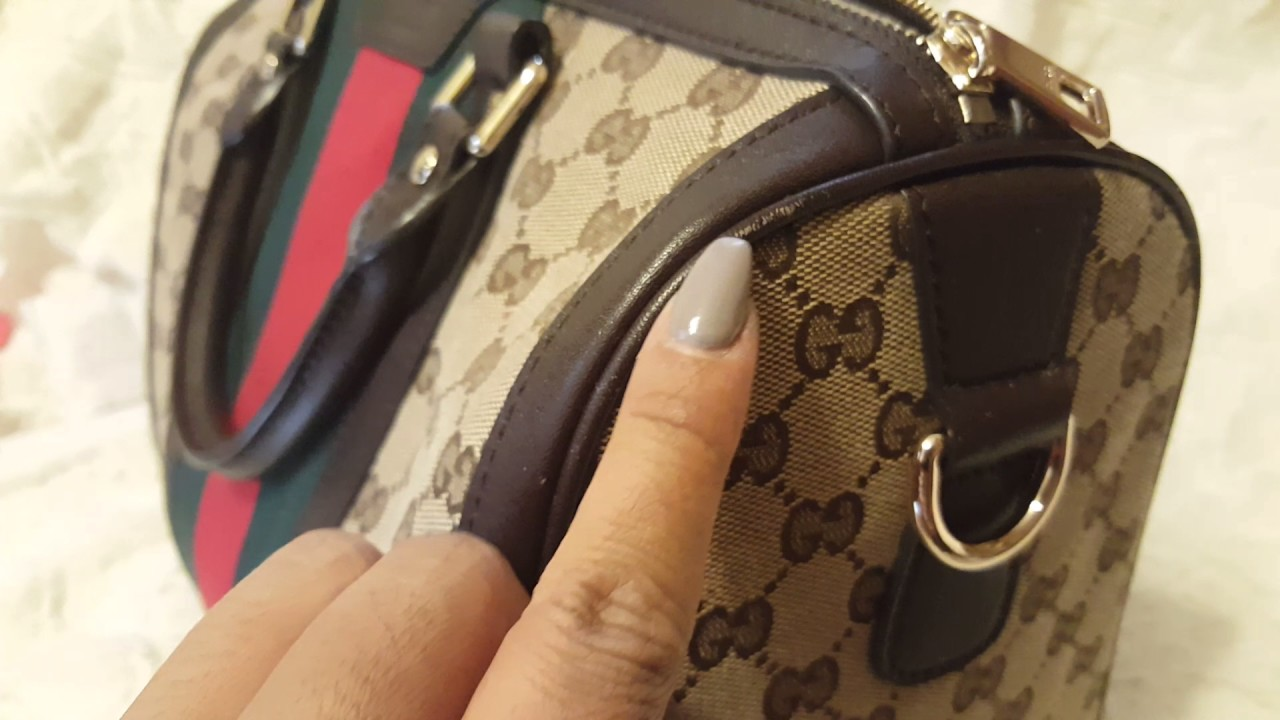 Gucci Boston Bag 1 Year Update Alternative To The Louis Vuitton Alma Mini Speedy