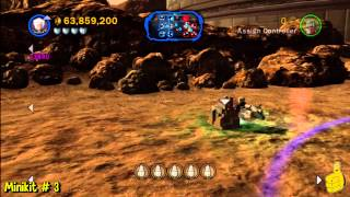 LEGO Star Wars 3: Battle For Geonosis Free Play (All 10 Minikits) - HTG