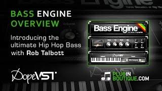 Bass Engine Overview - Hip Hop Bass PluginVST from DopeSONIX