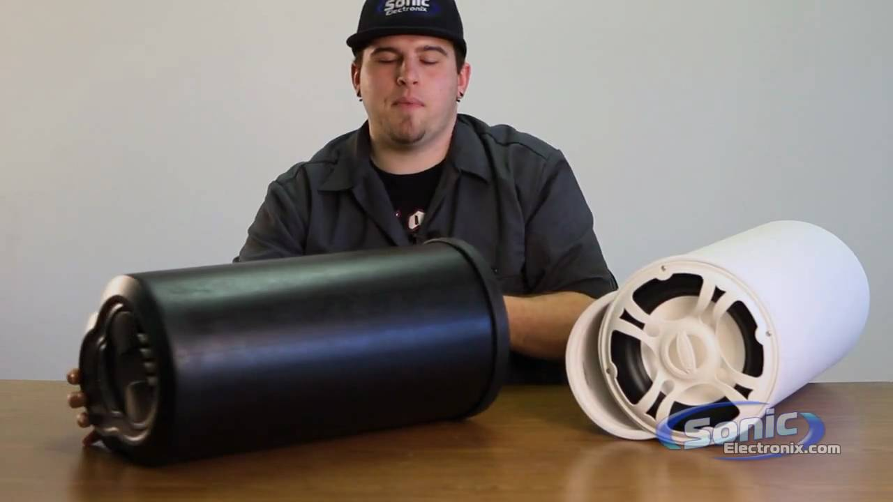 Bazooka Bass Tubes Subwoofer For Car And Boat Youtube