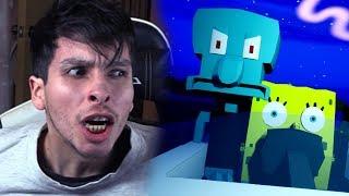 ESCAPO DE LA CASA DE CALAMARDO Y VOY A RESCATAR A GARY !! - Bob Esponja (Horror Game)   DeGoBooM
