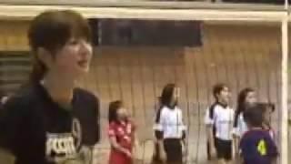 元全日本がバレーボール教室