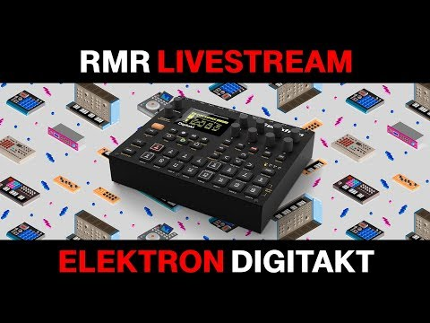 Red Means Recording Live Stream - Elektron Digitakt