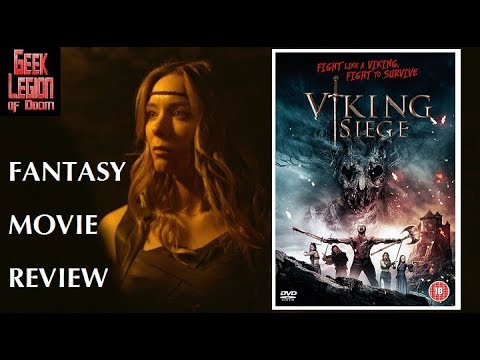 VIKING SIEGE ( 2017 James Groom ) aka ATTACK OF THE TREE BEASTS Fantasy Movie Review