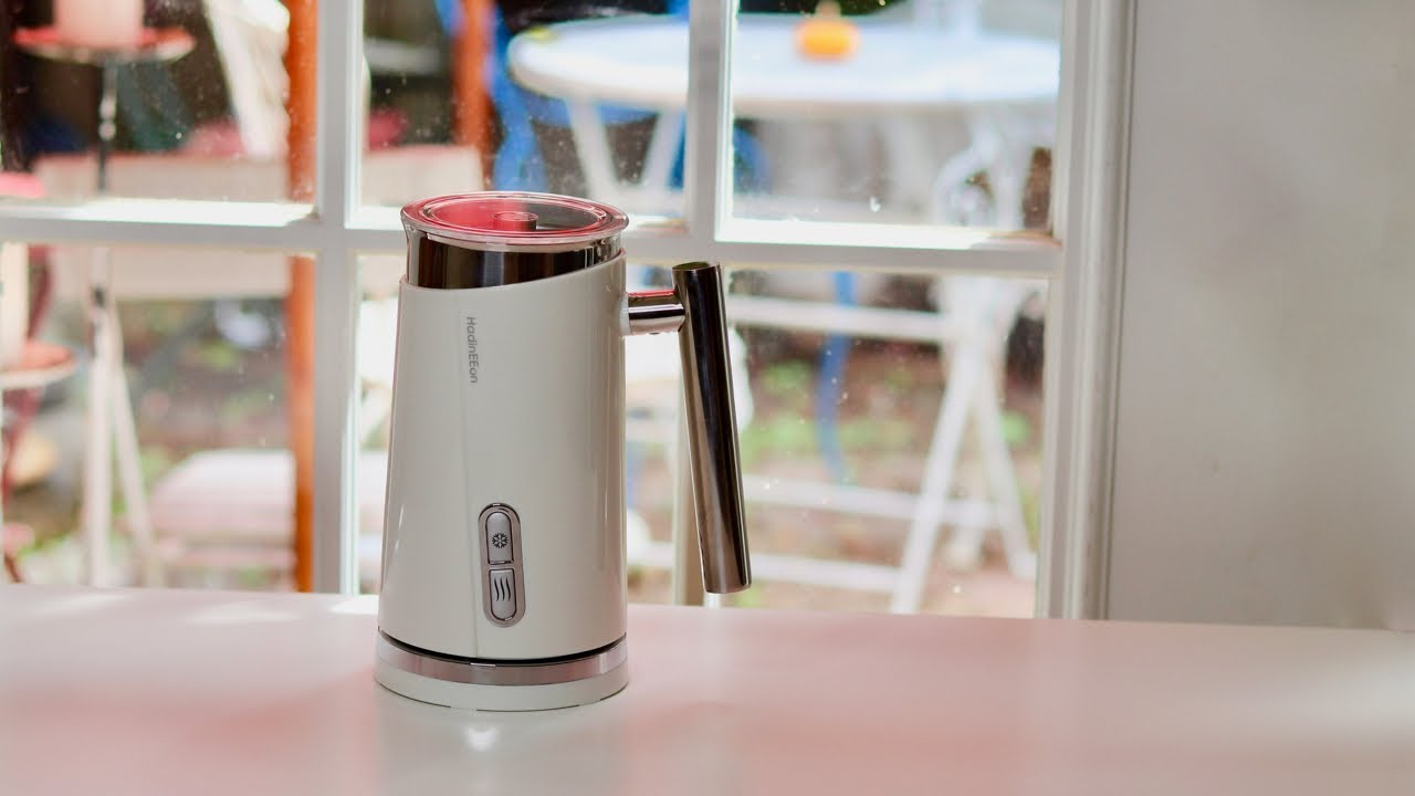 Image result for HadinEEon Electric Milk Frother & Steamer