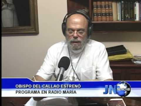 120413 Obispo del Callao estrenó programa en Radio María