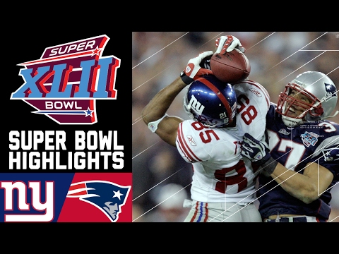 Super Bowl XLII: Giants vs. Patriots (#2) | Top 10 Upsets | NFL