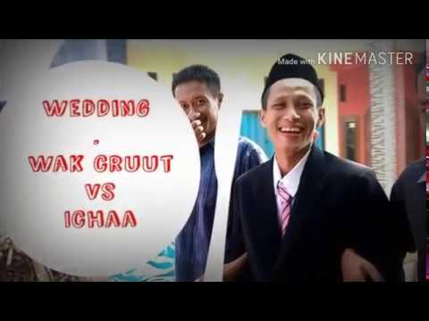 Wedding of wak crut,  song : akad (cover)  hanindya.