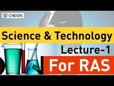 Space Science and Technology Current Affairs for RAS 2018 Exam: Lecture 1
