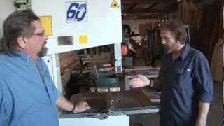 David Marks Helps Russ With His Bandsaw