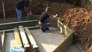 Diy - How To Install A Wooden Pool - Building The Walls