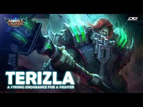 TERIZLA A STRONG ENDURANCE FOR A FIGHTER - MOBILE LEGENDS HERO