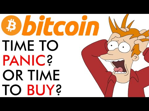 Bitcoin - Time To Panic Or Time To Buy?