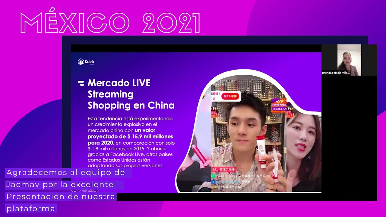 Download Kuick: LIVE Streaming Shopping is now possible in Mexico! #LiveShopping