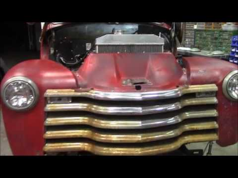 Rebuilding Shorty a 53 chevy truck sitting on a 2000 gmc 4.3