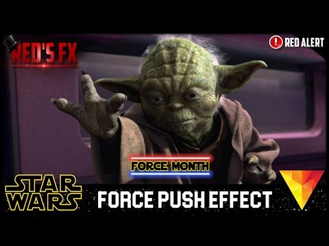 Force Push Hitfilm 4 Express Tutorial | Red's Fx