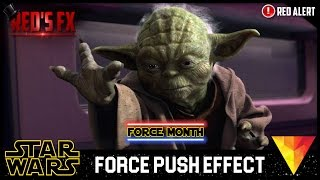 Force Push Hitfilm 4 Express Tutorial   Red's Fx
