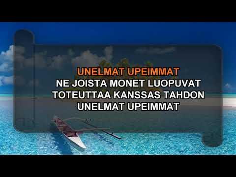 UNELMAT UPEIMMAT - karaoke