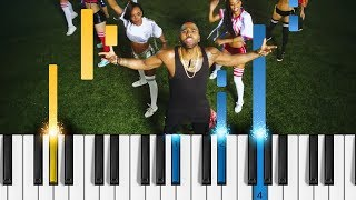 Jason Derulo & Maluma - Colors - EASY Piano Tutorial