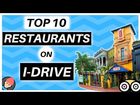 TOP 10 BEST RESTAURANTS ON INTERNATIONAL DRIVE ORLANDO