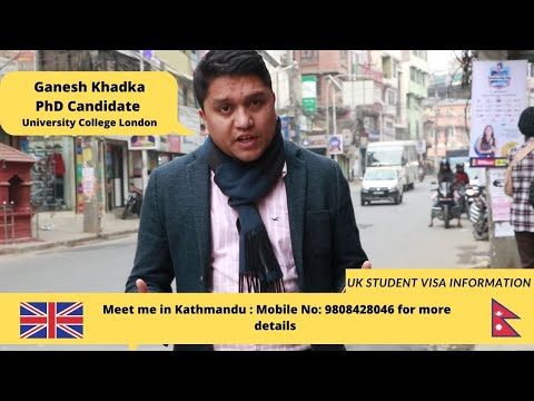 UK STUDENT VISA (INFORMATION FOR NEPALESE STUDENTS) Call me now 9808428046 for more details.