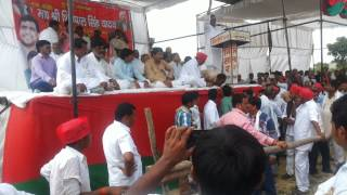 Speech By Shri Ram Lal Akela MLA Bachhrawan ,at Mainpuri election