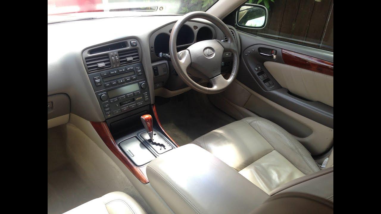 interior tour of a mk2 1998 lexus gs300 2jz ge [ 1280 x 720 Pixel ]