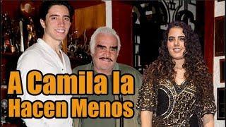 Bronca entre la Familia de Vicente Fernández por el Apoyo de los Nietos