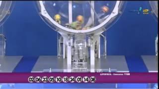 Resultado da Lotofácil concurso 1188 dia 27/03/2015 (Momento da Sorte - RedeTV)