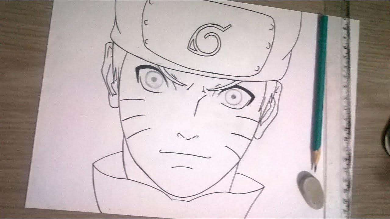 Imagens Para Colorir De Naruto: Naruto Desenho Para Colorir Facil