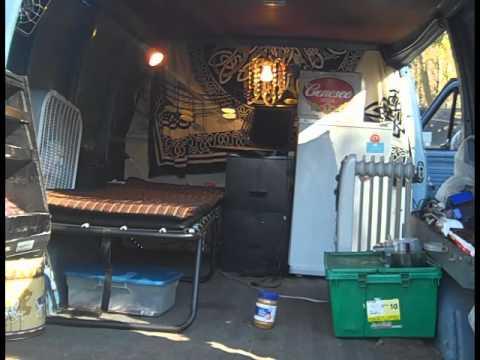 Sprinter Camper Van >> Recession Buddies: How To Live In Your Van - YouTube