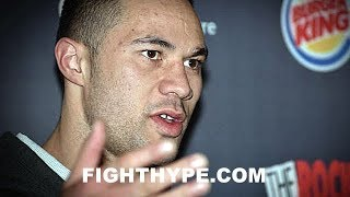 JOSEPH PARKER REVEALS WHAT HE'S BEEN WORKING ON; EXPLAINS ADVANTAGES OVER ANTHONY JOSHUA