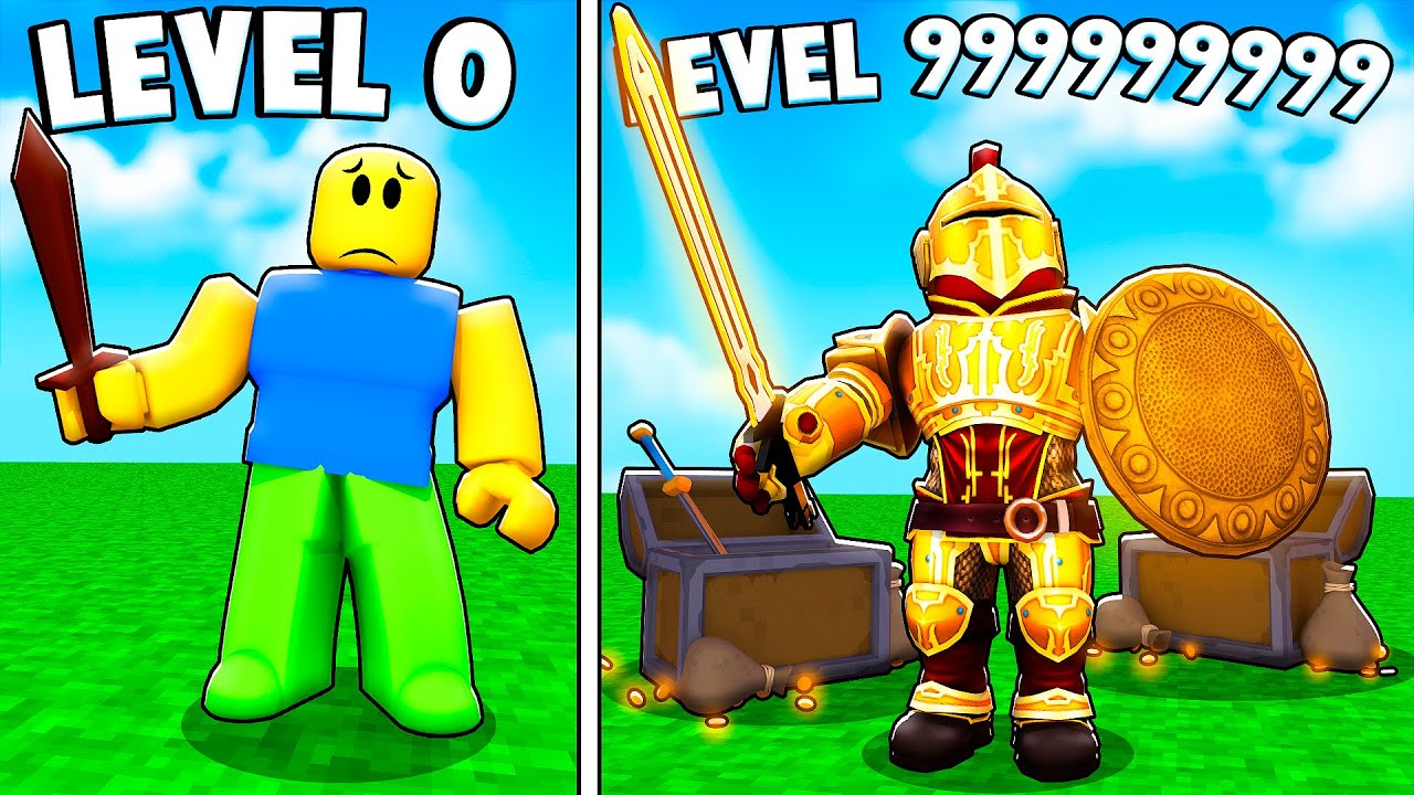 Becoming a  LEGENDARY KNIGHT In Roblox KNIGHT SIMULATOR!