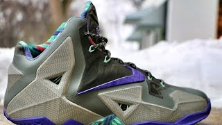 Nike LeBron 11 Terracotta Warrior - Review + On Foot