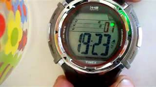 Timex 1440 Marathon 12/24 hr time set