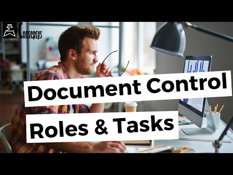 What Are The Typical Tasks In Document Control, Role By Role (job Description)